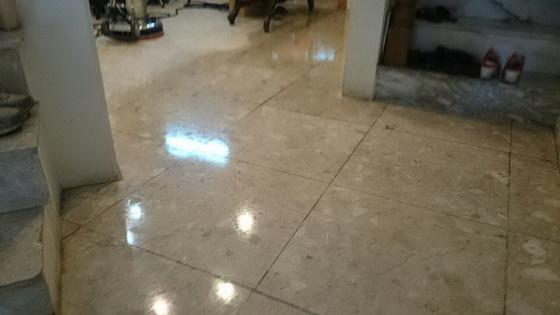 台南賓士清潔-石材晶化